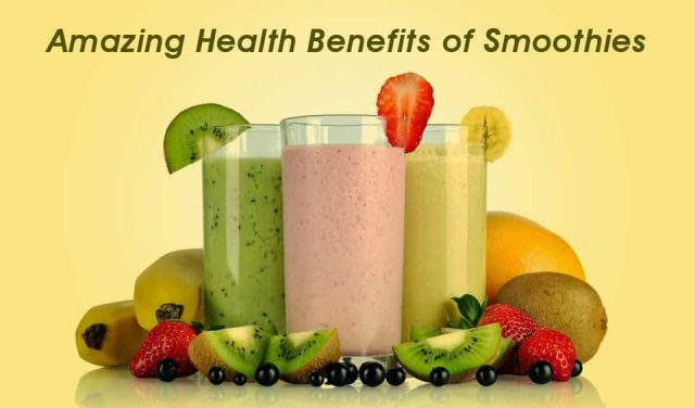 Amazing Health Benefits of Smoothies