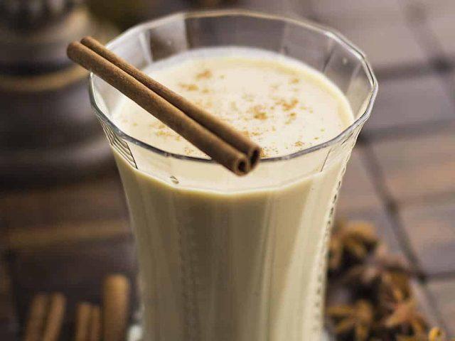 Vanilla latte healthy smoothie recipe BloggerOfHealth