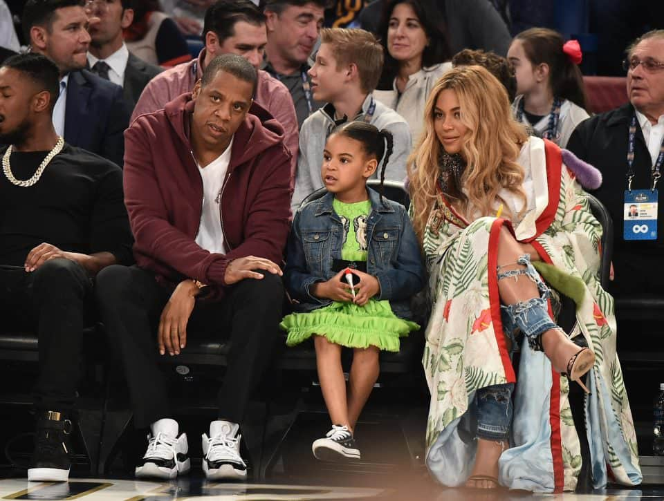 blue ivy jey z beyonce gettyimages