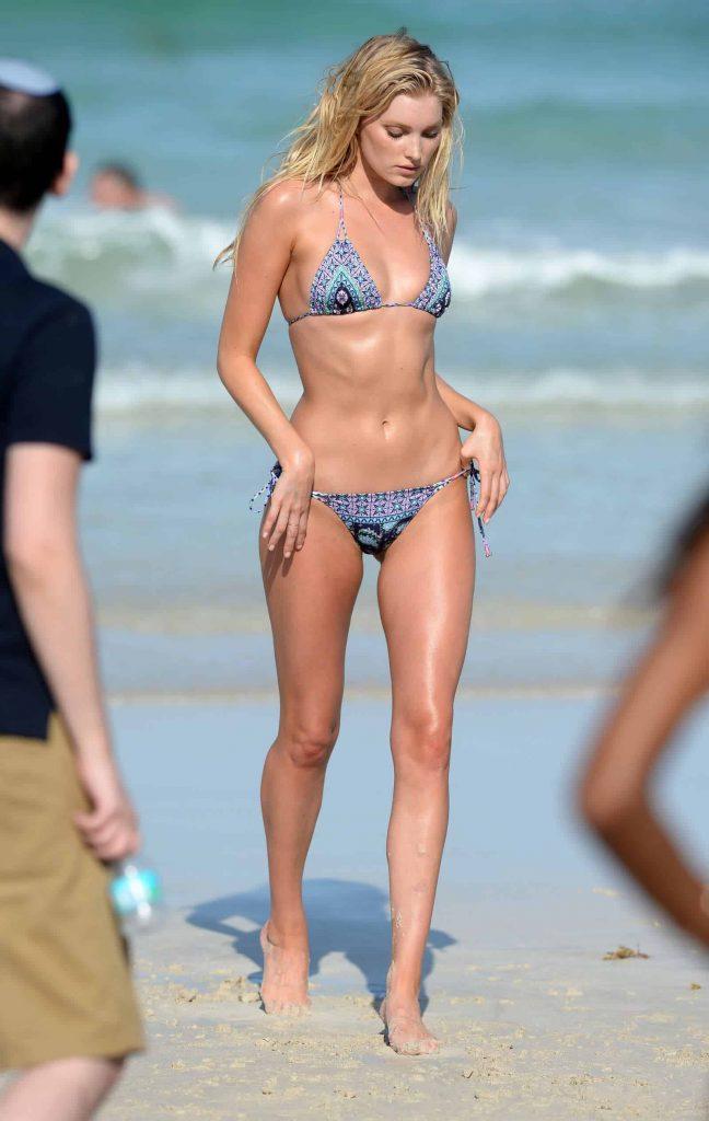 Elsa Hosk swimsuit and bikini model