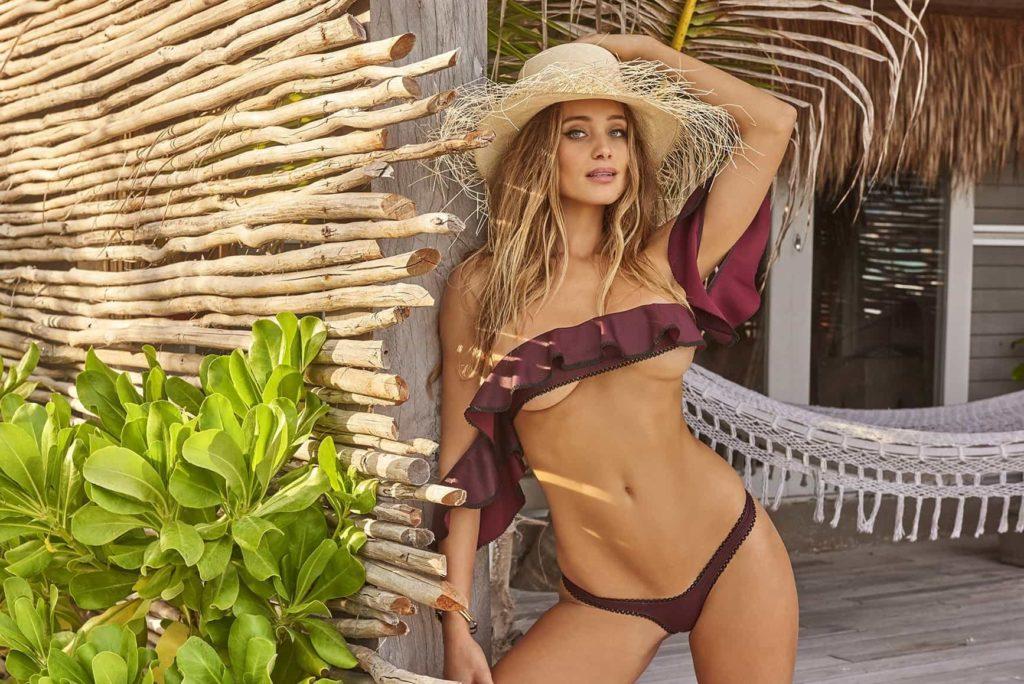 hannah jeter swimusit and bikini model