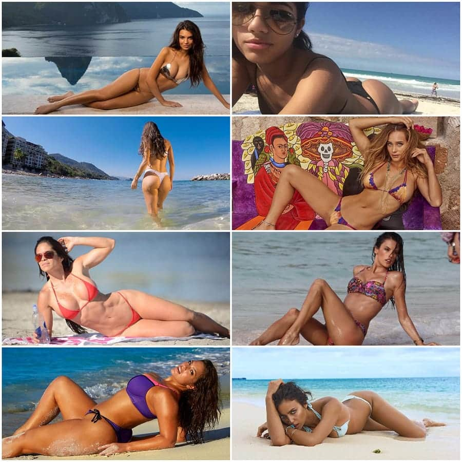 all bikini models on one place