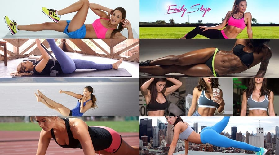 Female fitness girls featured