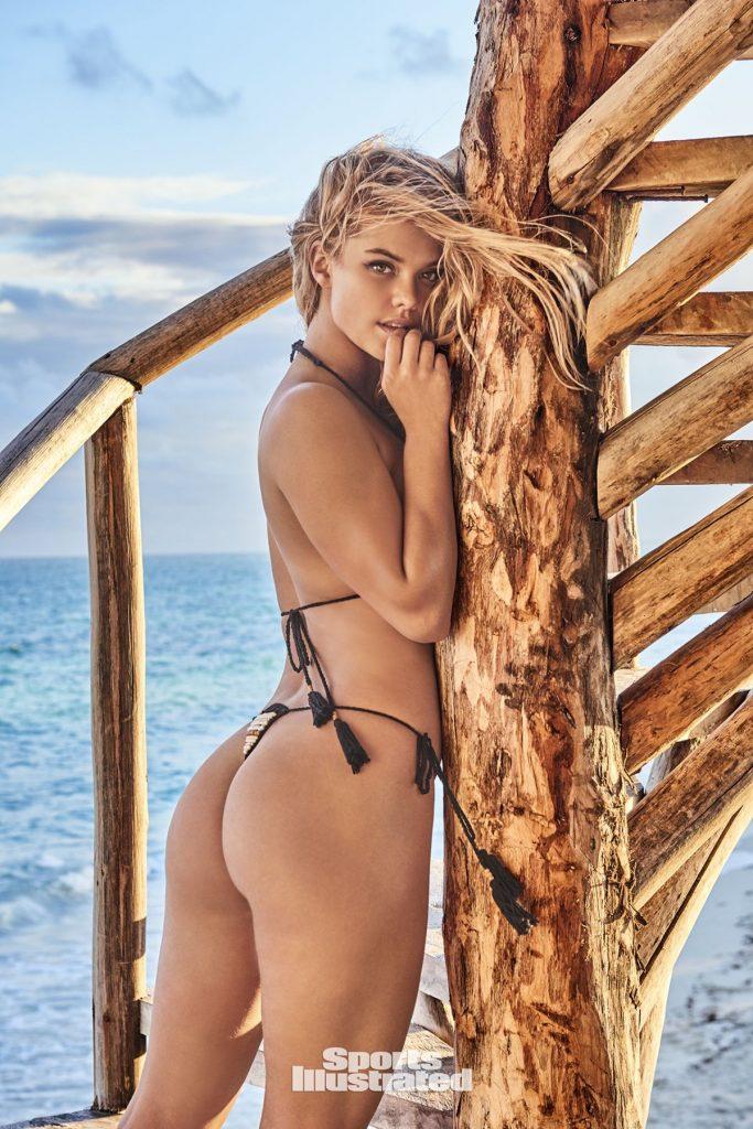 Nina Agdal bikini model