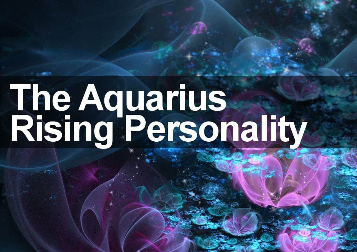 The Aquarius Rising Personality
