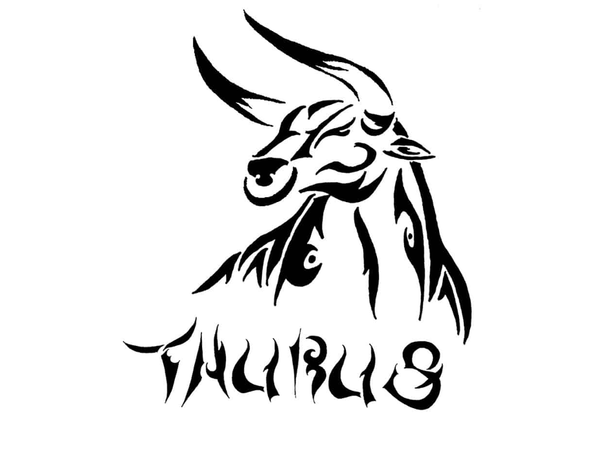 Taurus Sign Tattoo piedfeed.com