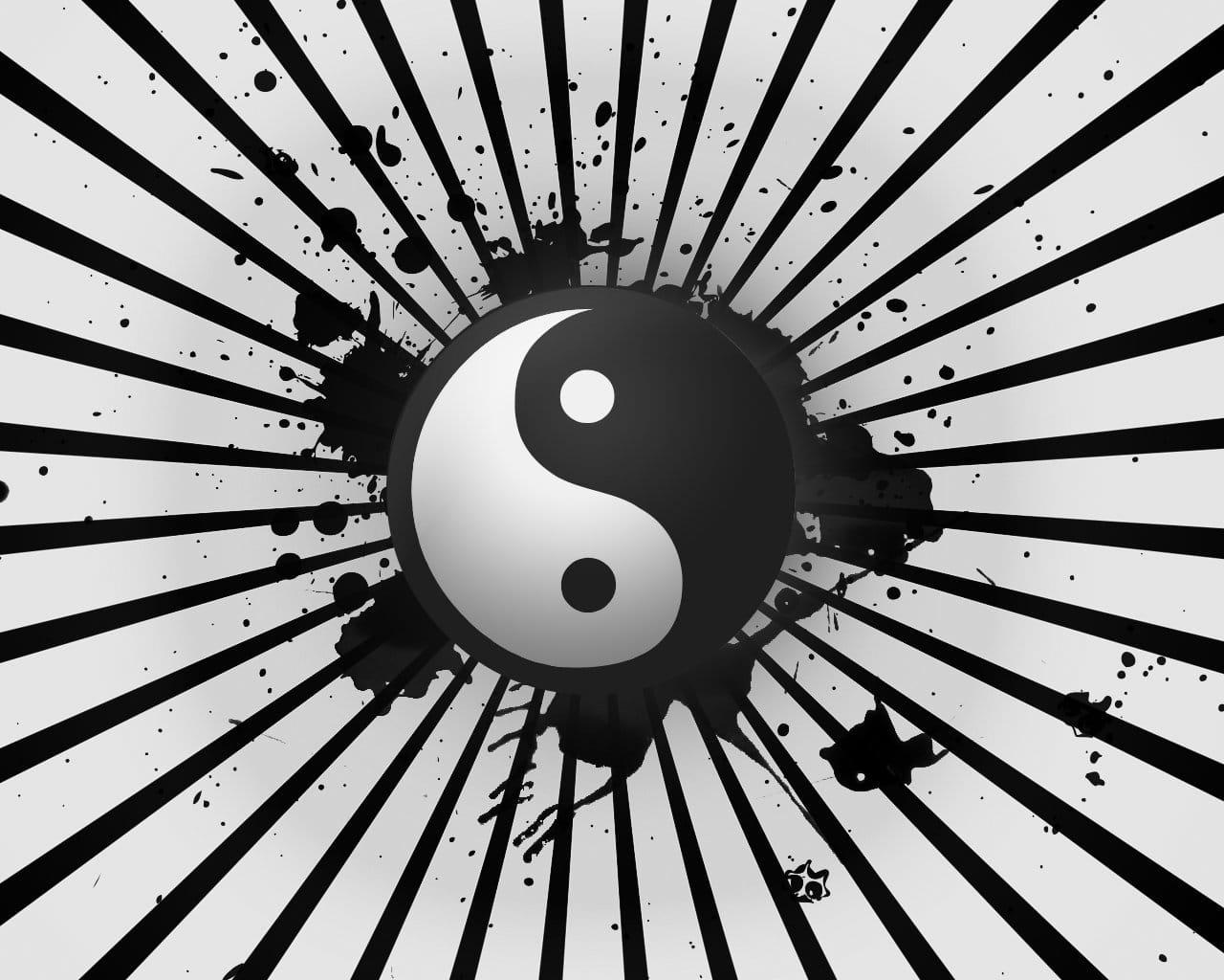 karma black in white - white in black