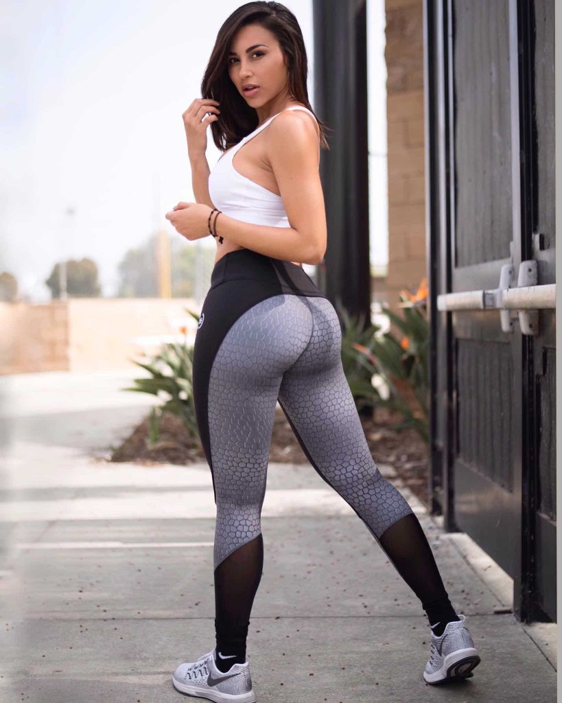 Ana Cheri fitness girl and model in bikini