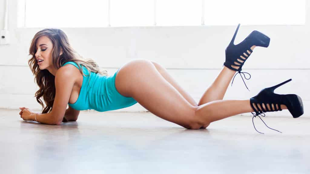 Ana Cheri fitness girl and model in bikini