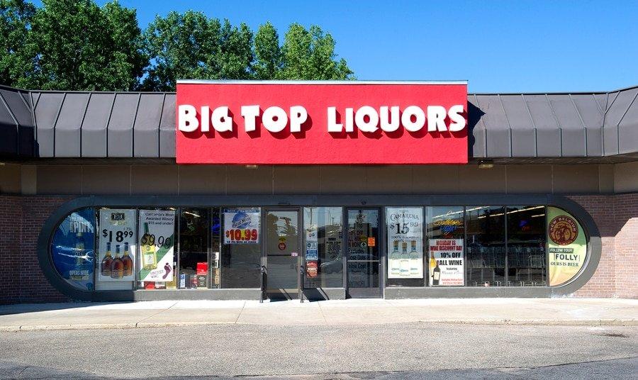 Big Top Discount Liquor Minnesota liquor store