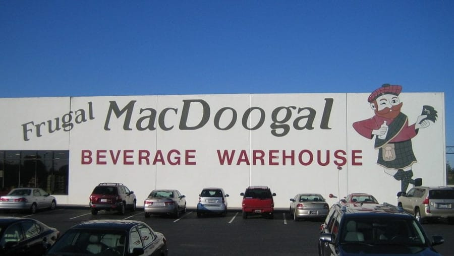Frugal MacDoogal Liquor Store