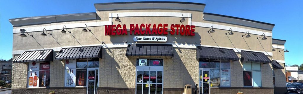 Mega Package Front liquor store