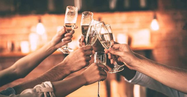 champagne liquor party
