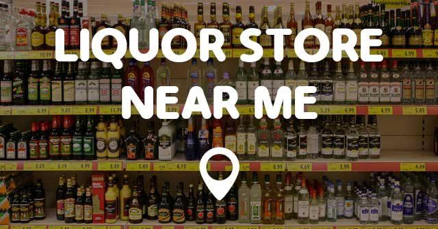 Liquor shop near me
