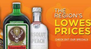 promo cheap Liquor store near you