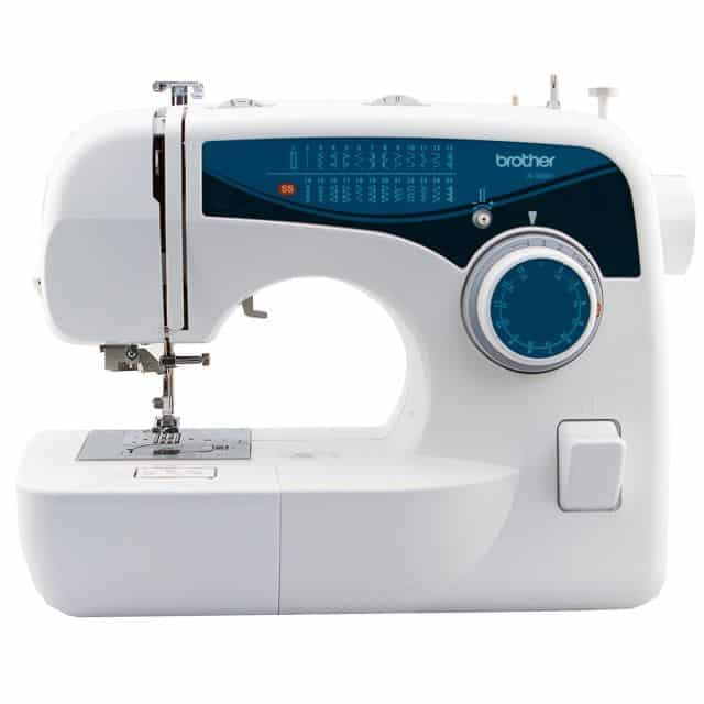 sewing machine brother white and blue